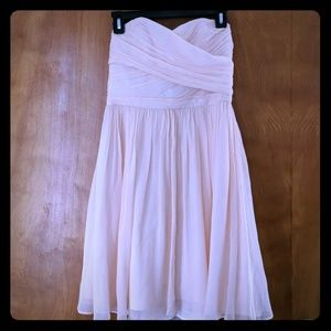 J. Crew Light Pink Strapless Dress, size 4